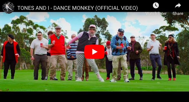 WATCH : Music Video of Dance Monkey by Tones and I