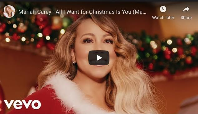WATCH: Mariah Carey – All I Want for Christmas Is You (Make My Wish Come True Edition)