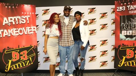 Z93 JAMZ Takeover featuring Keke Palmer