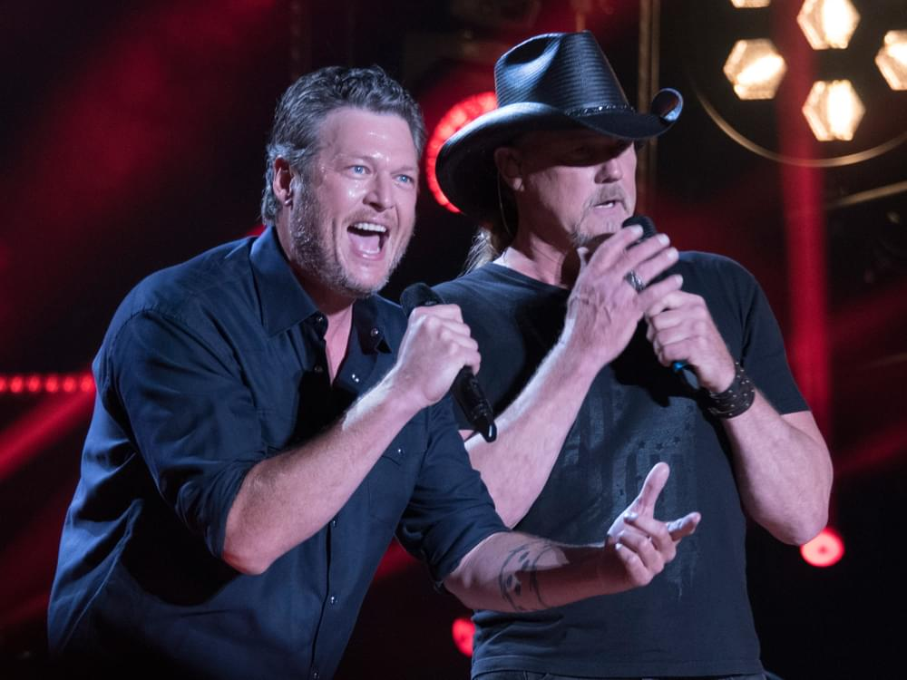 """Listen to Blake Shelton's New Single, """"Hell Right,"""" Featuring Trace Adkins"""