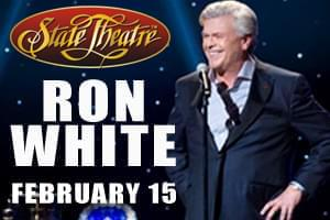 Cat Country 96 Welcomes Ron White to State Theatre