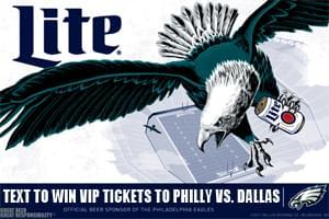 Win VIP Tickets to Philly vs. Dallas!