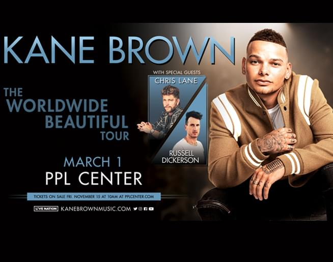 Cat Country 96 Welcomes Kane Brown To The Ppl Center Wcto Fm