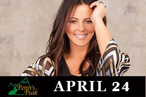 Sara Evans comes to Penn's Peak April 24th
