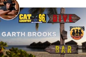 Cat Country 96 & 107.1 in the Poconos Welcomes The Garth Brooks Dive Bar Tour to South Jersey
