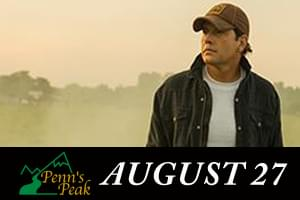 Rodney Atkins at Penns Peak August 27