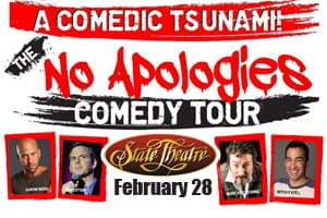 Cat Country 96 Welcomes the No Apologies Tour to the State Theatre