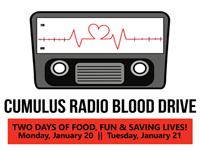 Cumulus Radio Winter Blood Drive