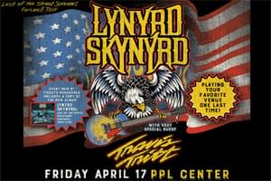 Cat Country 96 Welcomes Lynyrd Skynyrd & Travis Tritt to the PPL Center
