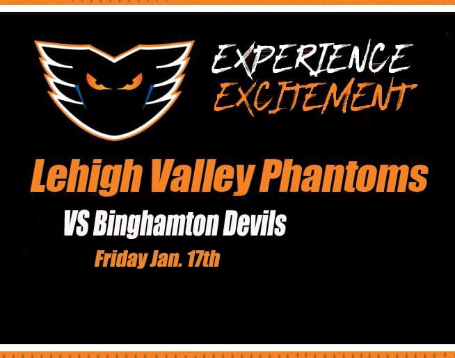 Lehigh Valley Phantoms vs Binghamton