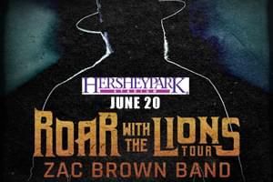 Cat Country 96 Welcomes the Zac Brown Band to Hersheypark Stadium