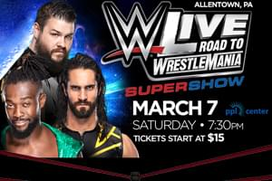 Cat Country 96 Welcomes 'WWE Live Road to WrestleMania' to the PPL Center
