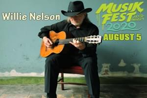 Willie Nelson at Musikfest August 5th
