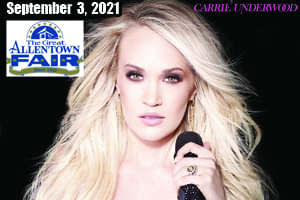 Cat Country 96 7 107.1 in the Poconos Welcomes Carrie Underwood to the Great Allentown Fair September 3, 2021