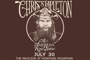 Cat Country 96 Welcomes Chris Stapleton to the Pavilion at Montage
