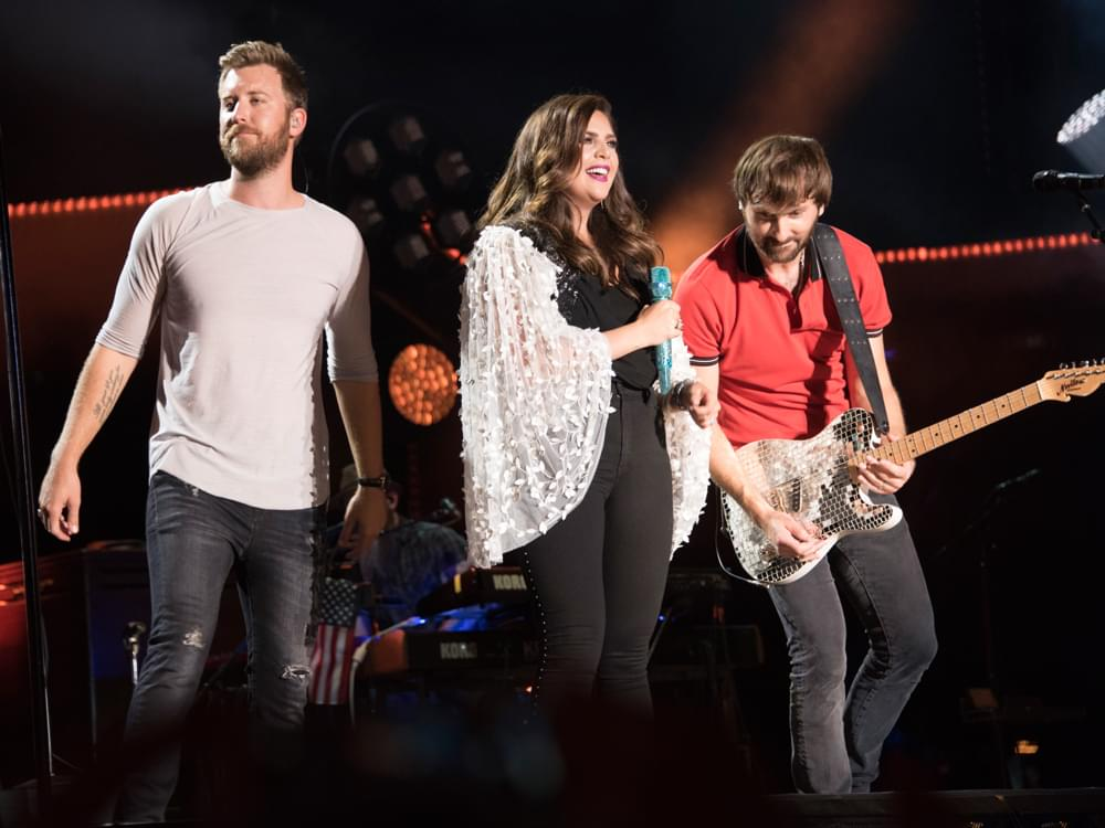 "Lady Antebellum Announces Rescheduled Dates on ""Ocean 2020 Tour"""