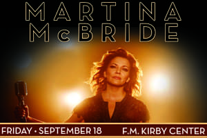 Cat Country 96 and 107.1 Welcomes Martina McBride to F.M. Kirby Center