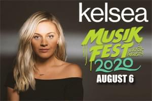 [RESCHEDULED] Kelsea Ballerini at Musikfest on August 12, 2021