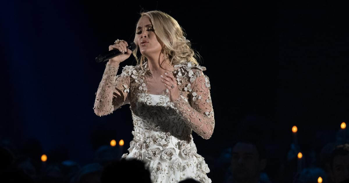 Carrie Underwood Is Planning to Release a Holiday Album Later This Year
