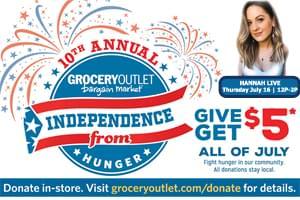 Join Hannah Live for Grocery Outlet Bargain Market