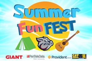 Summer Fun Fest at Coca-Cola Park