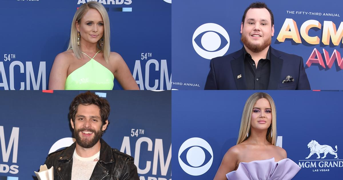 ACM Awards Announce First Round of Performers: Miranda Lambert, Luke Combs, Maren Morris, Thomas Rhett & More