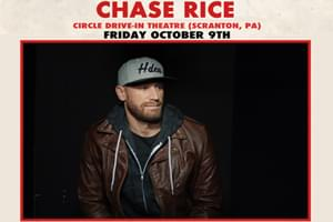 Chase Rice at Circle Drive-In in Scranton on October 9th
