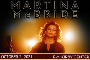 [RESCHEDULED] Martina McBride October 2, 2021