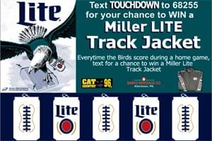 Win a Miller Lite Track Jacket