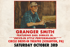 Granger Smith at Circle Drive In on October 3rd