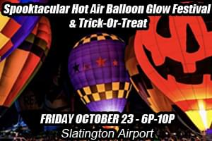A Spooktacular Trick-or-Treat and Hot Air Balloon Glow