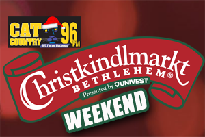 It's a Christkindlmarkt Weekend on Cat Country 96 & 107.1