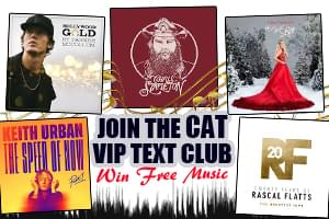 Join the CAT VIP Text Club and Win Free Music