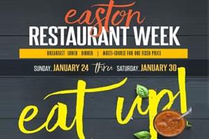 Win an Easton Restaurant Week Gift Card!