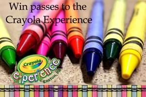 Win Passes to the Crayola Experience in Easton