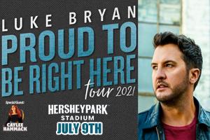 Cat Country 96 & 107.1 Welcomes Luke Bryan to Hersheypark Stadium