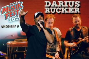 [RESCHEDULED] Darius Rucker at Musikfest August 7, 2021