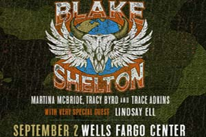 Cat Country 96 & 107.1 Welcomes Blake Shelton to the Wells Fargo Center