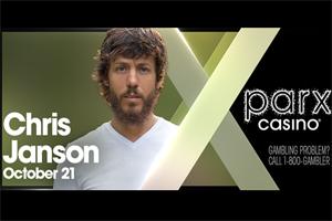 Chris Janson at Parx Casino in Bensalem October 21, 2021