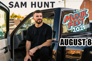 Cat Country 96 & 107.1 Presents Sam Hunt at Musikfest on August 8th
