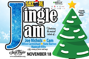 Cat Country 96 & 107.1 JINGLE JAM at State Theatre in Easton on November 18th