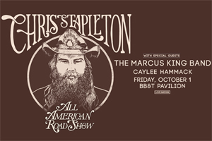 Car Country 96 & 107.1 Welcomes Chris Stapleton to the BB&T Pavilion