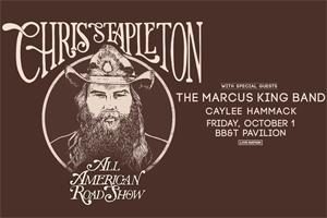 Chris Stapleton at BB&T Pavilion October 1, 2021