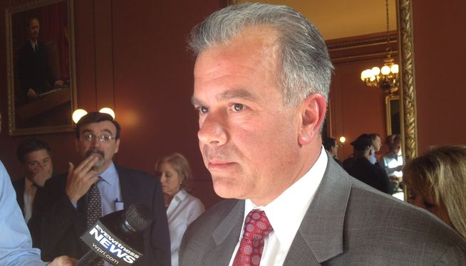 "Mattiello: I misspoke when calling PawSox proposal ""good business model"""