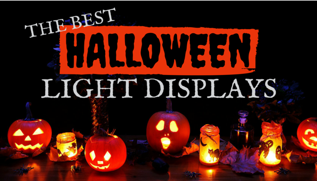 The Best Local Halloween Light Displays