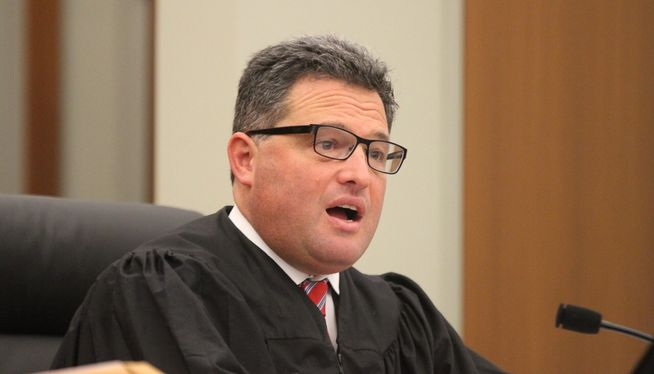 Superior Court Judge Brian Stern. Pool photo by Mary Murphy / The Providence Journal