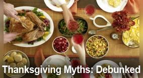 The Biggest Thanksgiving Myths & Legends, Debunked
