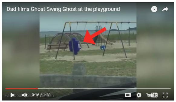VIDEO: Dad Films Ghost Swinging at Warwick Playground?