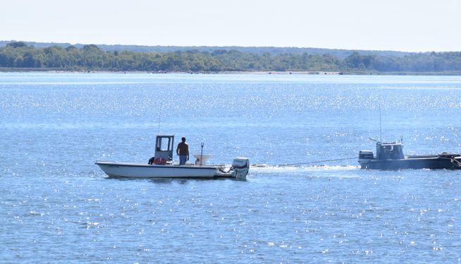 The view of Narragansett Bay from Rocky Point. Photo by Steve Klamkin WPRO News