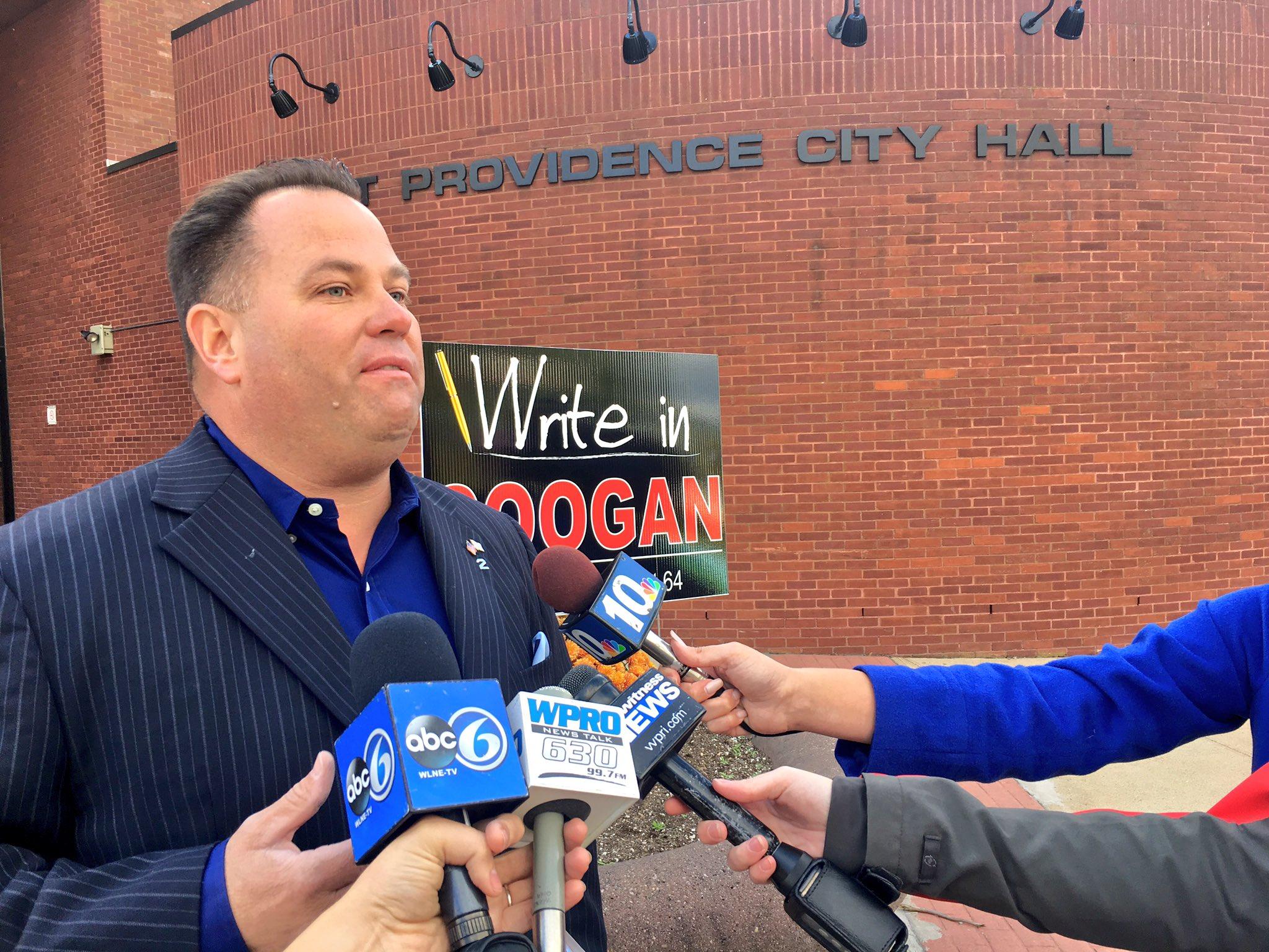 Former Rep. Coogan denies stealing political signs